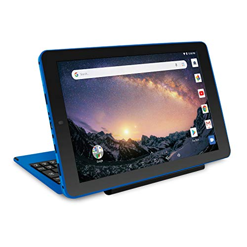 "2018 Newest Premium High Performance RCA Galileo 11.5"" 2-in-1 Touchscreen Tablet PC Intel Quad-Core Processor 1GB RAM 32GB Hard Drive Webcam WiFi Bluetooth Android 6.0-Blue"