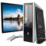 (Renewed) HP Elite 7900 Desktop PC Package, Intel Core 2 Duo Processor, 8GB RAM, 500GB Hard Drive, DVD-RW, Wi-Fi, Windows 10, 19in LCD Monitor
