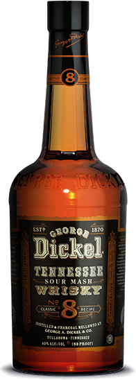 George Dickel Classic No. 8 Whisky (750ml)