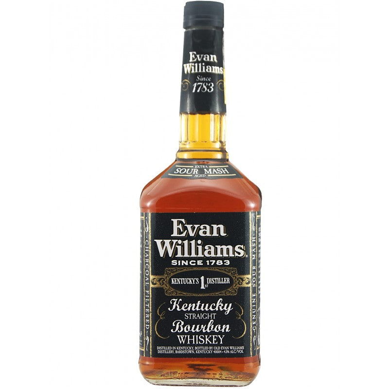 Evan Williams Black Label Kentucky Straight Bourbon Whiskey (750ml)