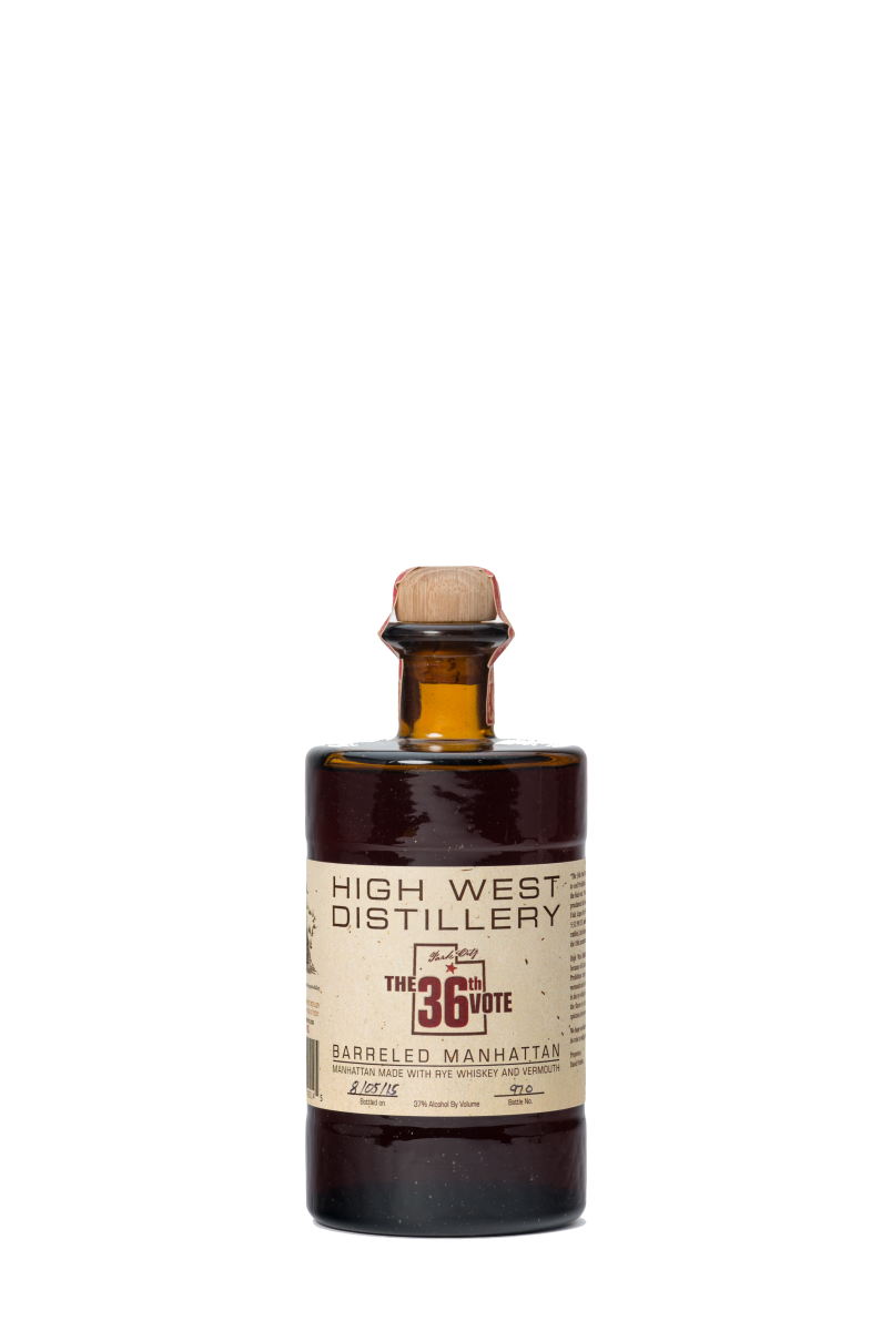 High West 36th Vote Barreled Manhattan (750ml)