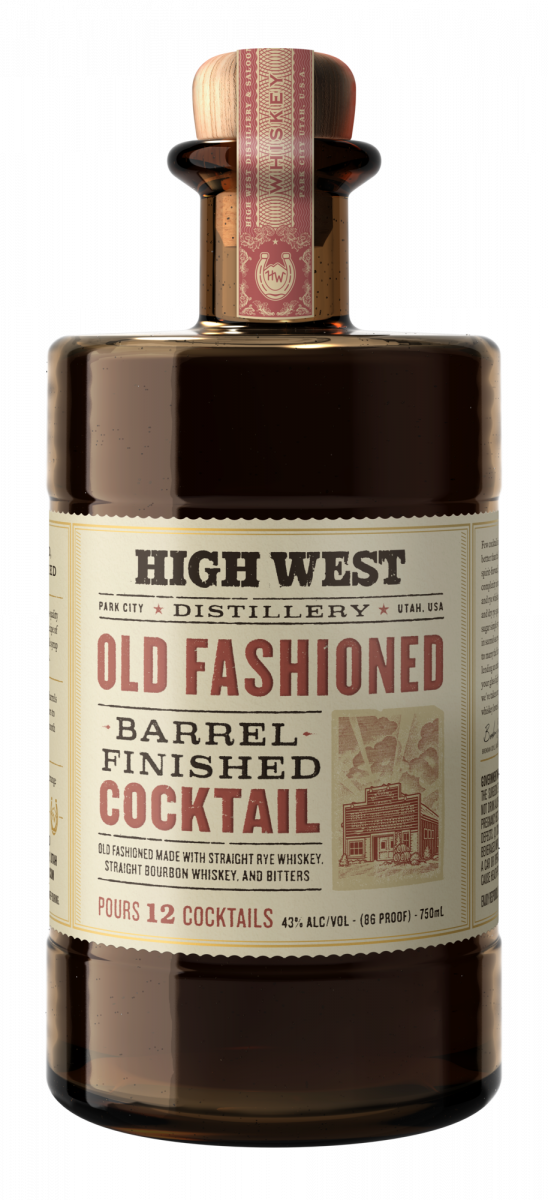 High West Distillery Barrel-Finished Old Fashioned Cocktail (750ml)