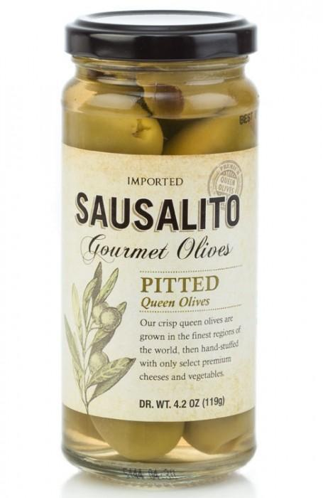 Sausalito Gourmet Foods Pitted Cocktail Olives (4.2oz)