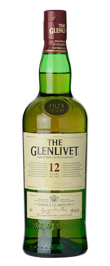 Glenlivet 12 YearSingle Malt Scotch Whiskey (750ml)