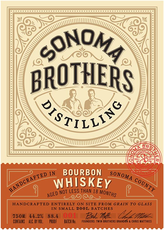 Sonoma Brothers Distilling Bourbon Whiskey (750ml)