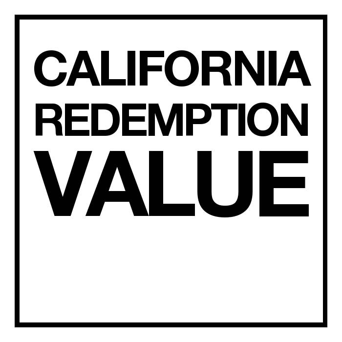 California Redemption Value (CRV) - State Mandated