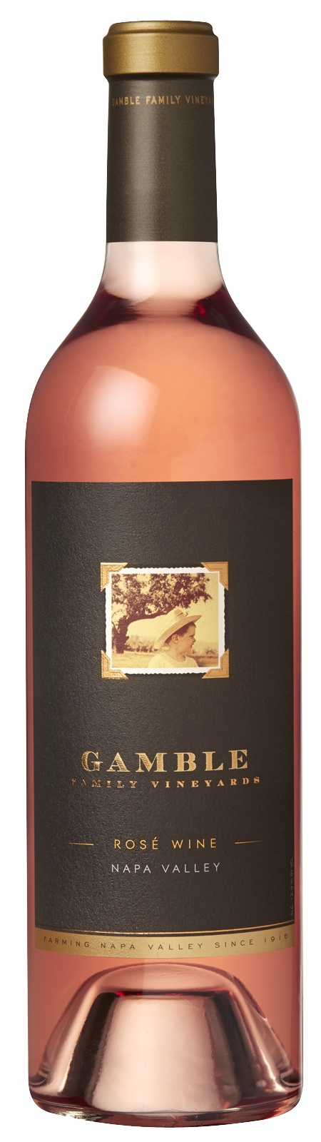 Gamble Family Vineyards Napa Valley Rose 2018 (750ml)