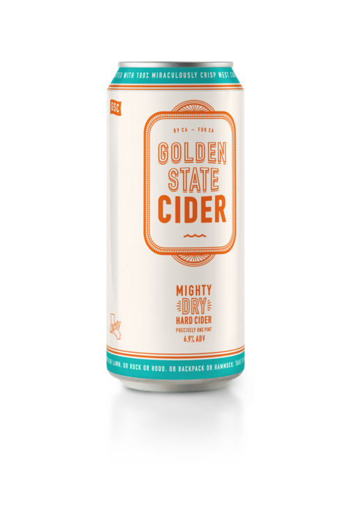 Golden State Cider Mighty Dry 4pk (16oz)