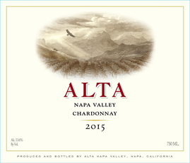Alta Napa Valley Chardonnay 2015 (750ml)