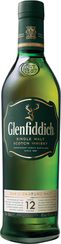 Glenfiddich 12 Year Old Scotch (750ml)