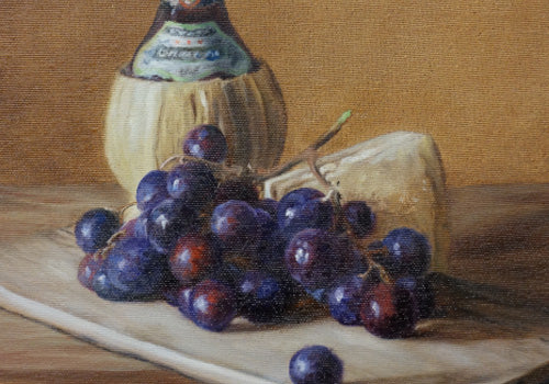 Borsheim Art News - Chianti and Olives Art Workshop Nov 2018