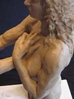 Mold Making for I am You Bronze Sculpture of Man and Woman