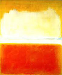 Title unknown (by Kelly) painting by Mark Rothko