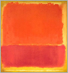 """No. 12"" 1951 @ 34"" x 31"" painting by Mark Rothko"