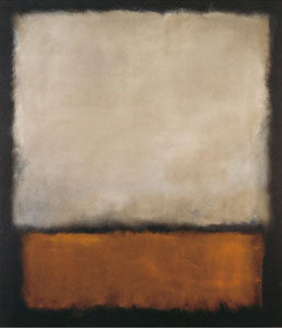 """Dark Brown and Grey"" painting by Mark Rothko"