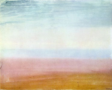 """Color Beginning"" 1819 watercolor by JMW Turner"