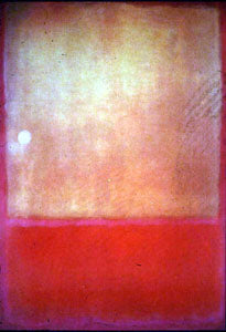 """Ochre and Red on Red"" 1954 painting by Mark Rothko"