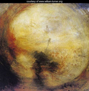 "The Morning After the Deluge"" circa 1843 painting by JMW Turner"