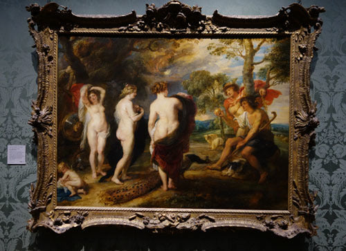 Judgement of Paris Rembrandt and Rubens National Gallery London Museum