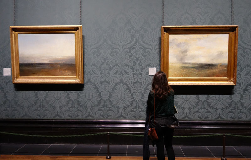 Art Lessons from JM Turner Compare Paintings National Gallery London Museum