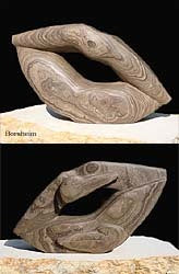 Pelican Lips Marble Sculpture