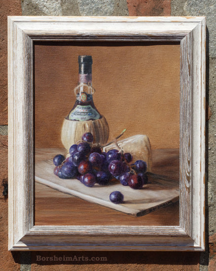 news1902_PaintingChiantiWineCheeseGrapes-30x25cmOilOnCanvas190213_049Sony
