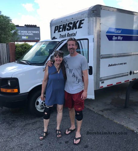 It felt so good to return my Penske Rental in good shape and on time, thanks to my little brother's help!