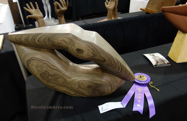 Wow, so surprised on my return! Best of Show ~ Pelican Lips Marble WON!