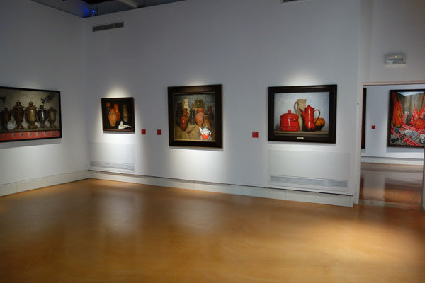 Still Life Paintings Exhibit Wall