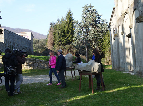 RAI TV Linea Verde Publicity Interview on Italian TV Symposium Castelvecchio Tuscany Italy