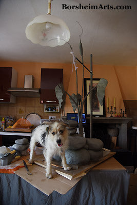 Gregory da Pisa dog assistant to artist sculptor