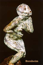 Load image into Gallery viewer, 9-1-1 911 Anguished Figure Fall of Twin Towers Bronze Statue Sculpture