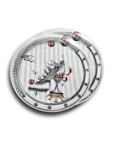 Order two why not have a pair of these elegant and funky specially designed plates by Dragana Adamov