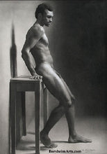 Load image into Gallery viewer, Second Thoughts Classical Drawing of Nude Male Figure SOLD