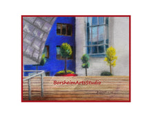 Load image into Gallery viewer, Guggenheim Museum Bilbao Urban Landscape Cityscape Spain Digital Download Pastel Painting Architecture Art