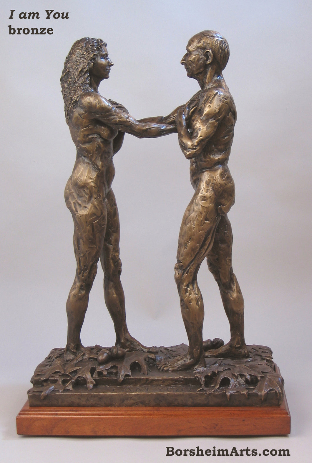 I am You Standing Couple Bronze Instant Connection
