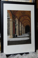Load image into Gallery viewer, Framed and Ready to Hang Palazzo Pitti - Firenze, Italia ~ Original Pastel & Charcoal Drawing Italian architecture