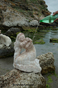 Seeing the real color had I highly polished this stone Sirena Mermaid Art Symposium Rusalka Kavarna Bulgaria 2014