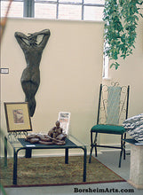 Load image into Gallery viewer, Ten ~ Large Bronze Wall Hanging Female Back Bas-Relief Sculpture