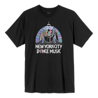 NYC Skyline Vintage T-Shirt - Black