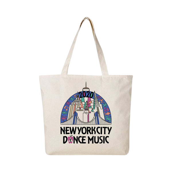 NYC Skyline Vintage Tote Bag