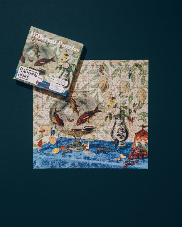 Flattering Fishes – 500 pieces 1
