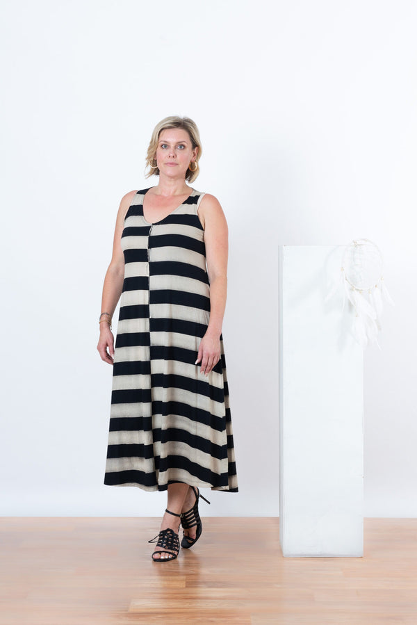Laila Sleeveless Maxi Dress