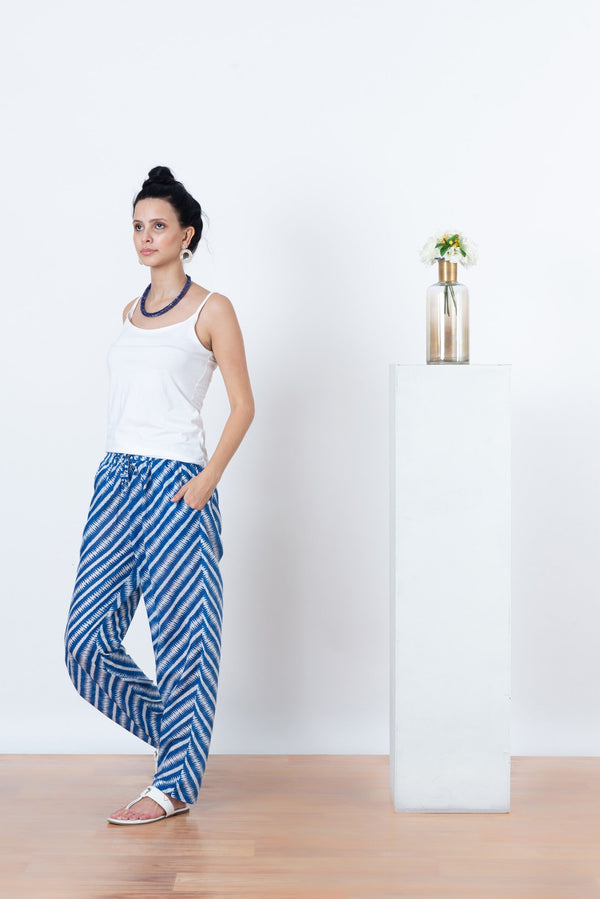 Alexis Blue Stripe Pants