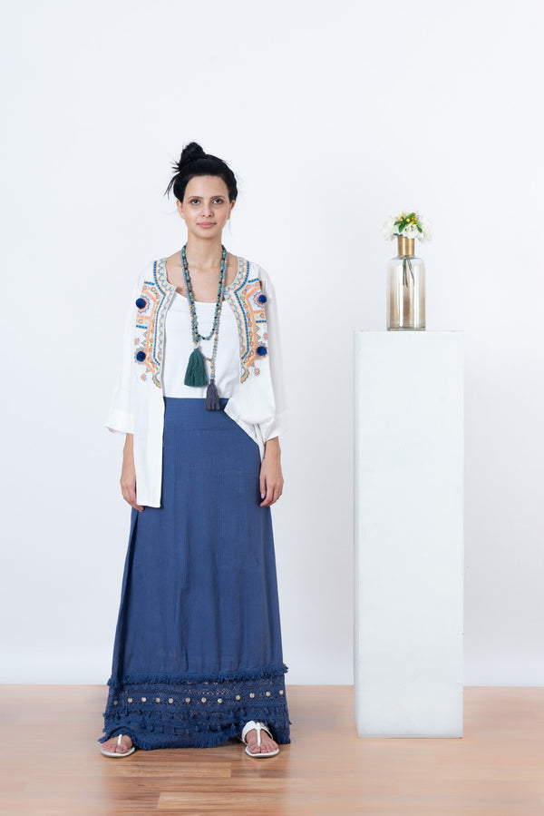 Gypsy Coin Long Skirt