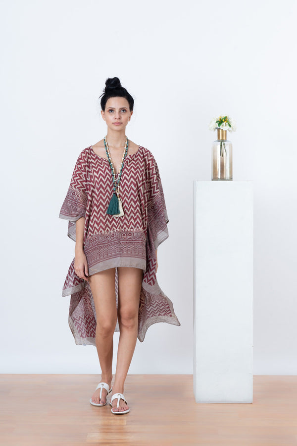 Swati High Low Kaftan