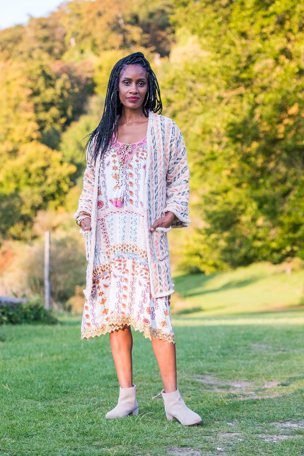 Autumn Moon Tunic Dress