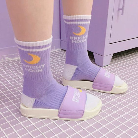 Bright Moon Socks 🌙