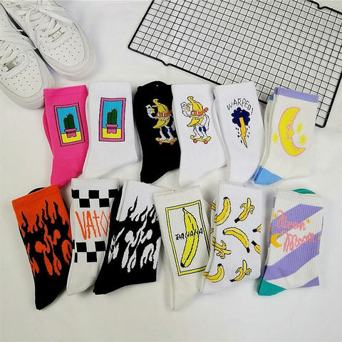 Harajuku Skateboard Socks 🔥