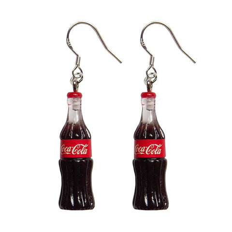 Coca Cola Earrings 💕